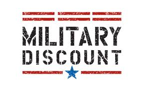 Windshield replacement military discount
